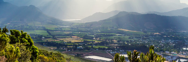 Weinbaugebiet Franschhoek, Wine-growing area Franschhoek