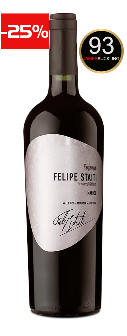 Felipe Staiti Wines - Euforia 2017 (93 Punkte James Suckling)