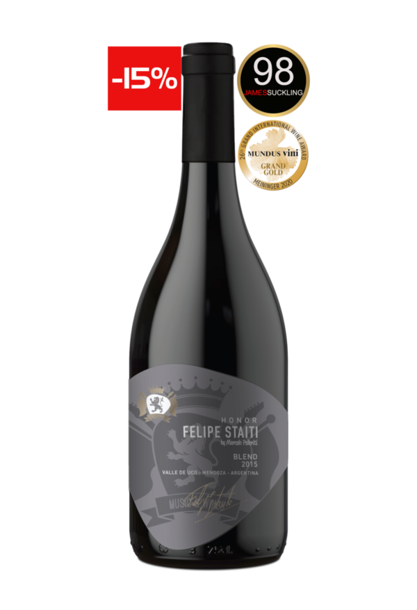 Felipe Staiti Wines - Honor 2015 (98 Punkte James Suckling)