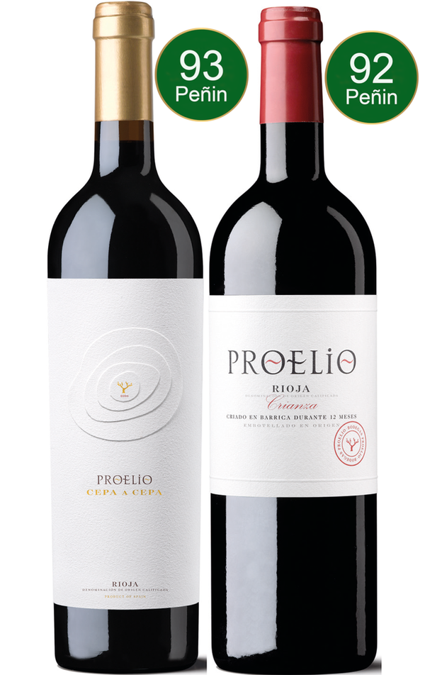 Spanien - Bodegas Proelio - The Collection (Cepa A Cepa 2015 + Crianza 2015)