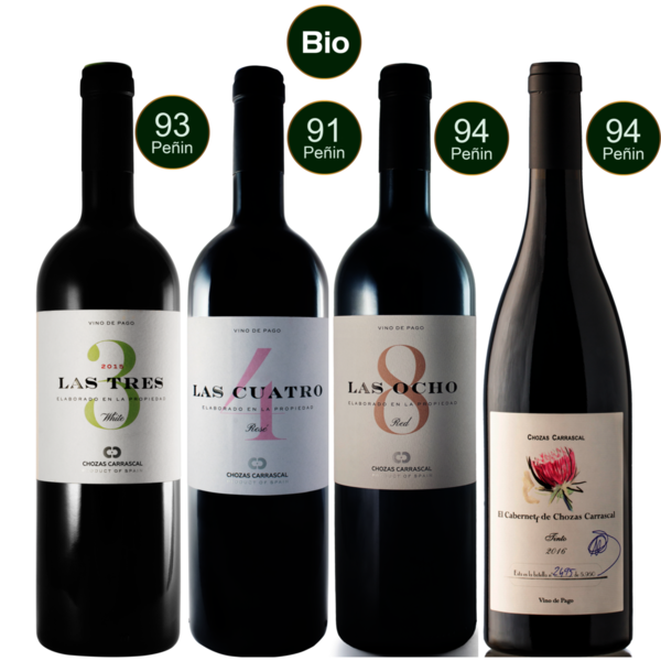 Spanien - Chozas Carrascal - The Pago Collection BIO (4x 0,75L)