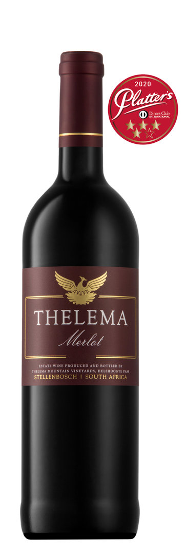 Thelema Mountain Vineyards - Merlot 2017 (4,5 Sterne John Platter)