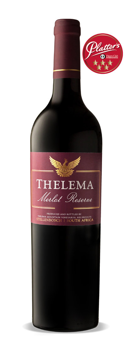 Thelema Mountain Vineyards - Merlot Reserve 2017 (5 Sterne John Platter)