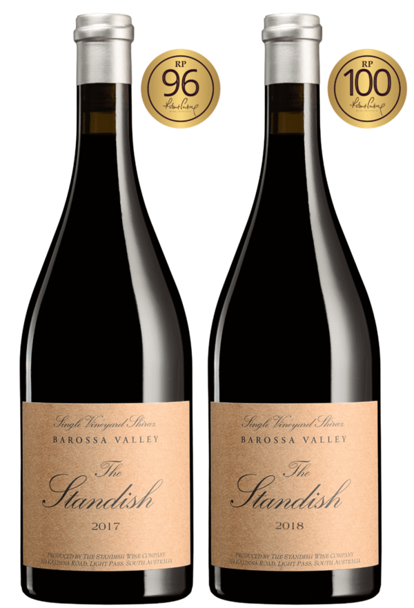 The Standish Wine Company - The Standish Shiraz Vertikale 17/18 (-100 Punkte Parker)
